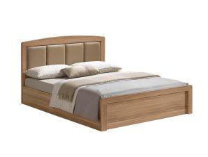 """Κρεβάτι """"CALIBER"""" διπλό σε χρώμα σονόμα-δρυς 168x210x100"""