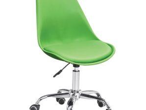"""Καρέκλα γραφείου """"VEGAS"""" από pp-pu σε πράσινο χρώμα 48x56x95"""