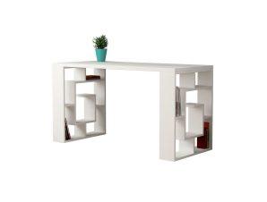 """Γραφείο """"LABIRENT"""" σε χρώμα λευκό 140x60x75"""