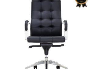 """Πολυθρόνα διευθυντή """"ALABAMA SUPREME QUALITY"""" σε μαύρο χρώμα 61x60x122/130"""
