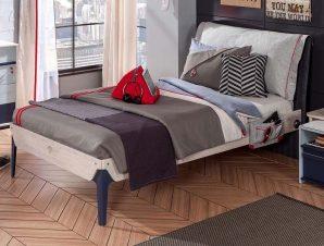 Παιδικό κρεβάτι ημιδιπλο TR-1302 USB CHARGING – TR-1302 USB CHARGING