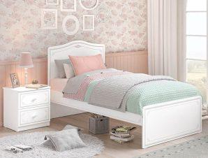 Παιδικό κρεβάτι SE-GREY-1303